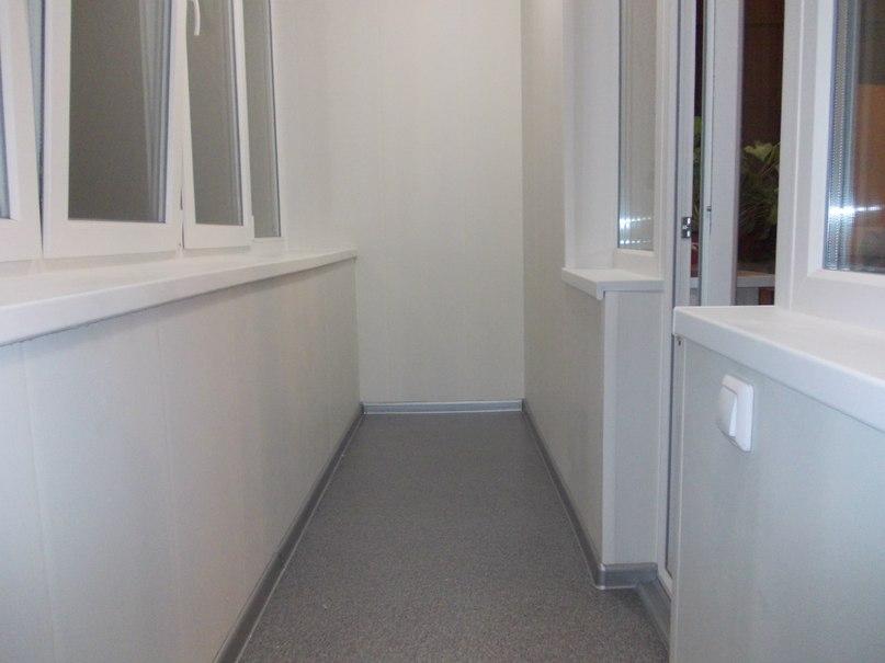 Обшивка и утепление балконов - отделочные работы, ремонт - с.