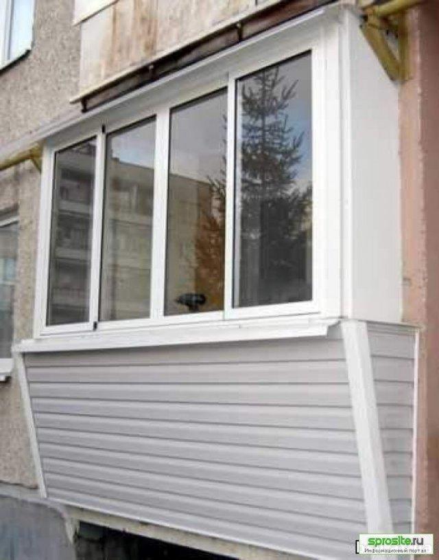 Остекление балконов тольятти.